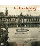 Les rues de Nancy de Jean-Marie Cuny