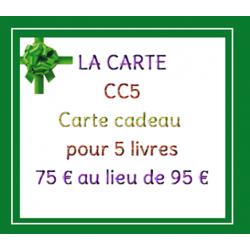 Carte Cadeau - 5 livres